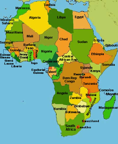 New Africa Map.Does Africa Have A Fashion Industry Ladybrille Magazine